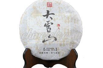 Daxueshan raw tea